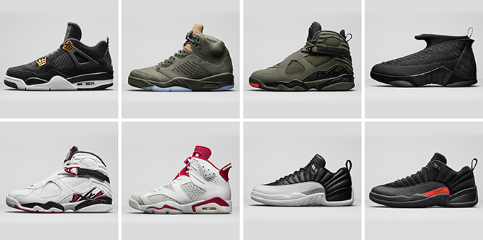 sports shoes 0031d 4d493 NIKE AIR JORDAN SPRING 2017 COLLECTION