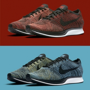 5d99d86ec7c9 The Nike Flyknit Racer returns in University Red Bright Mango and Blue Glow
