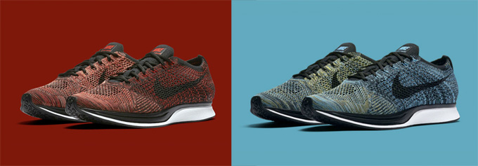 01308b102995 The Nike Flyknit Racer returns in University Red Bright Mango and ...