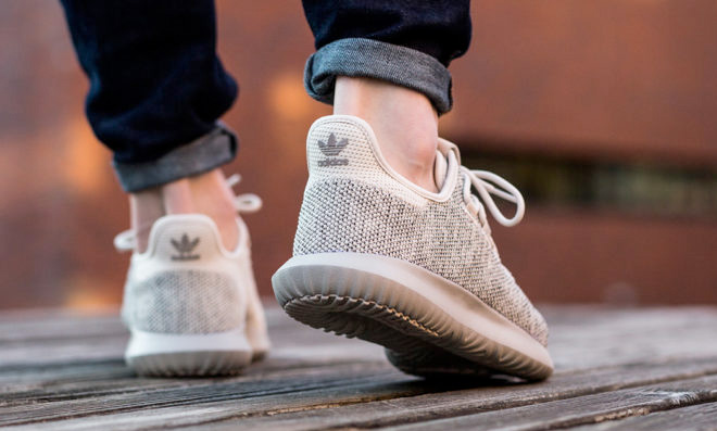 adidas Toddler Tubular Shadow Knit (Black White) KicksUSA