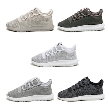 Adidas Tubular Shadow (Crystal White & Black) End Torsion Dirtkarting