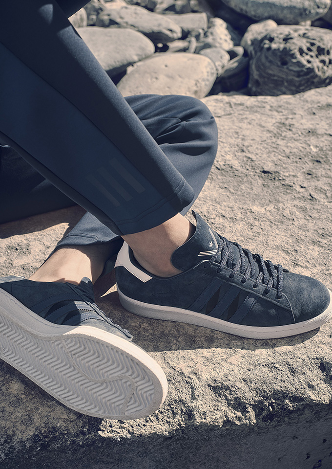super popular 62ece 5e71e ADIDAS ORIGINALS BY WHITE MOUNTAINEERING SS17 FOOTWEAR COLLECTION