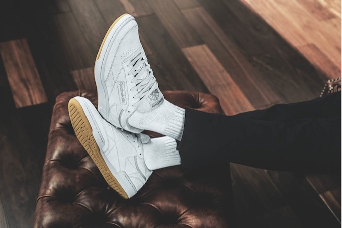 the kendrick lamar x reebok club c 39 tonal gum 39 pack is. Black Bedroom Furniture Sets. Home Design Ideas