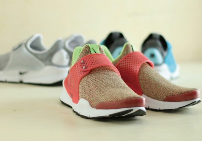 online retailer a45fd bd2d5 ... and in anticipation of the welcome change of weather, Nike is releasing  two new eye-catching colourways of women s NIKE SOCK DART SE.