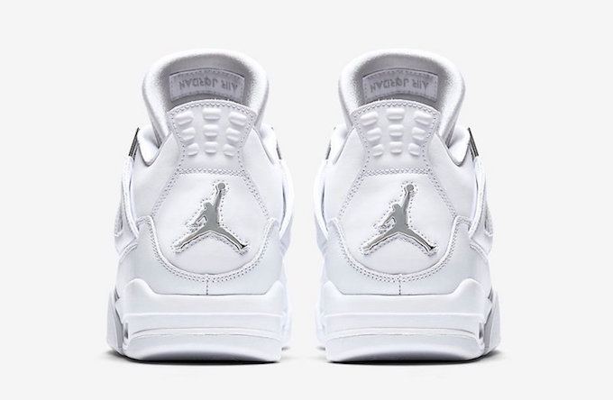 First Look At Two Air Jordan 4 Retro Colourways Pure