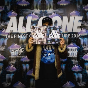 ALL GONE 2016 BOOK LAUNCH AT FOOTPATROL