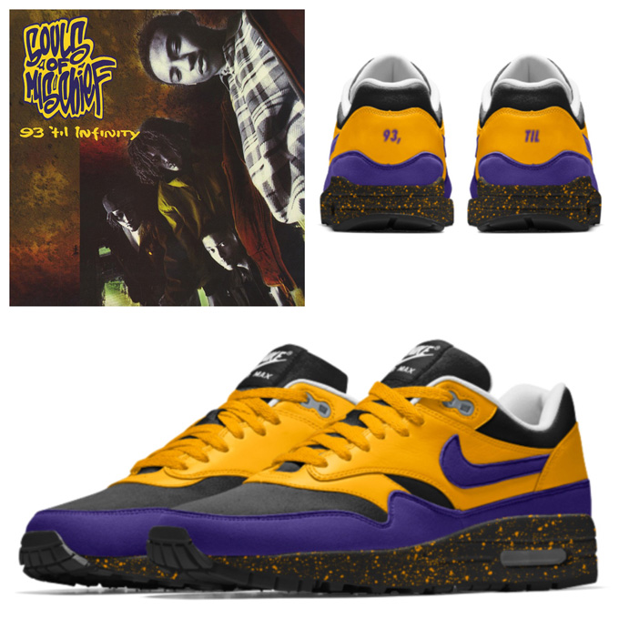 buy cheap best deals on popular brand More Album Art Inspired NikeiD Creations On The Nike Air Max ...