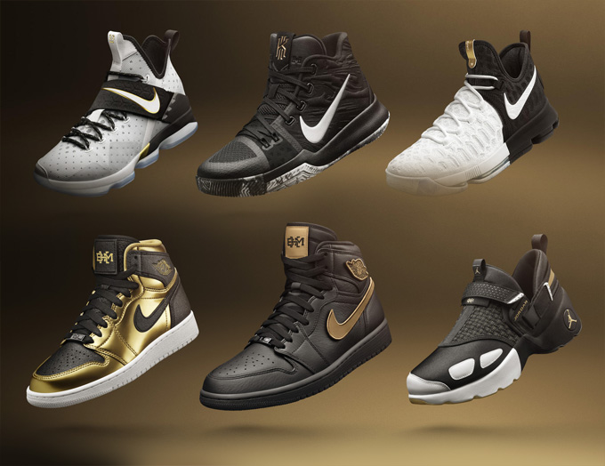b0215218561 Nike and Jordan Brand have just unveiled the 2017 BHM COLLECTION for Black  History Month: a collection that acknowledges African-American athletic ...