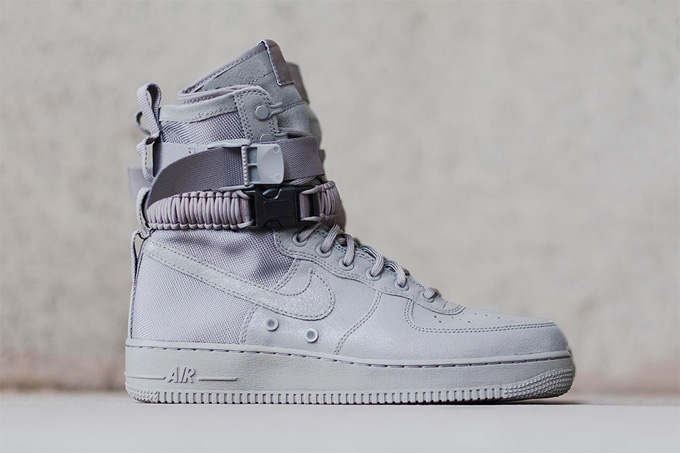 The Nike Sf Af 1 Returns Once Again This Time In All Grey