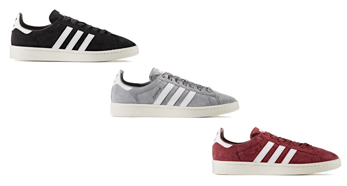 33d3736407f9 These new colours of the ADIDAS ORIGINALS CAMPUS sees one of our most-loved  shoes brought back in true style for the forthcoming season.