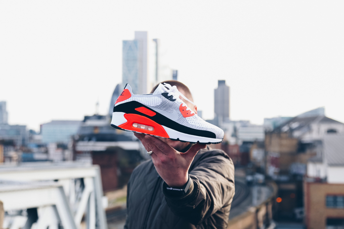 reputable site f4c49 821ef The NIKE AIR MAX 90 ULTRA 2.0 FLYKNIT INFRARED is AVAILABLE NOW. Take a  minute to enjoy our OTF images below, and click on the banner to shop this  ...