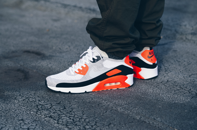 air max 90 ultra 2.0 flyknit infrared