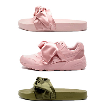best cheap 19b3d 5de4d Fenty by Rihanna x Puma Bow Sneaker & Slide