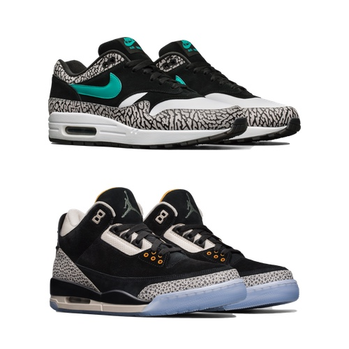 super popular fec15 bce7c NIKE X ATMOS AIR MAX 1 X JORDAN III PACK