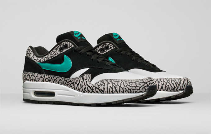 310b0b6ef33e Nike s Elephant Is Back in the Room  The atmos Air Max 1 x Jordan ...