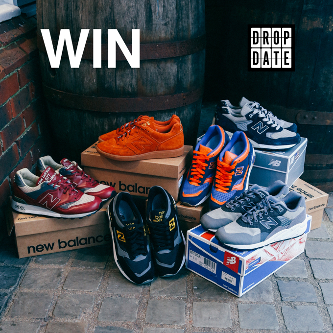 WIN NEW BALANCE WITH THE DROP DATE!
