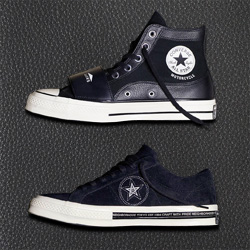 lowest price e62f2 07181 A First Look at the new Converse x NEIGHBORHOOD Collaboration - The Drop  Date