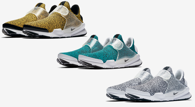 643ce7976c50 Get Wild with the Nike Sock Dart Safari Pack - The Drop Date