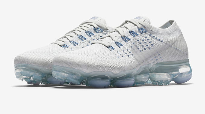 959b35e5174c0 The Women s NikeLab Air VaporMax Flyknit is Icy Fresh in White and ...