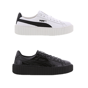 a945141189b PUMA X FENTY BY RIHANNA CREEPER CRACKED LEATHER