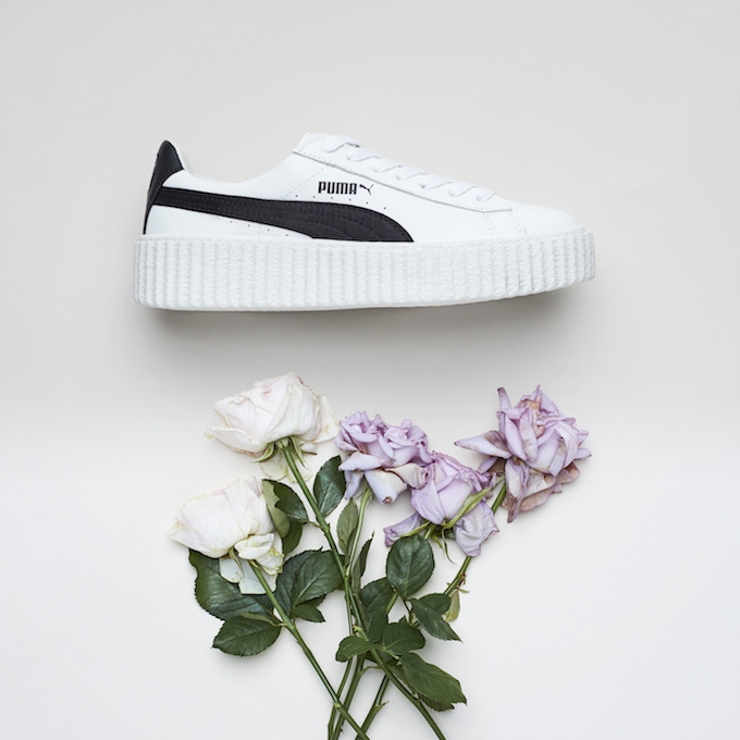 rihanna puma creeper cracked leather