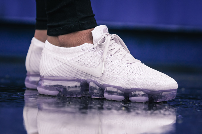 0a727055c6b Nike Air VaporMax Flyknit Light Violet   Violet Dust  On-Foot Shots ...
