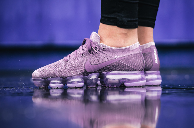 c4ba545bbc87 Nike Air VaporMax Flyknit Light Violet   Violet Dust  On-Foot Shots ...