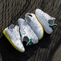 on sale e0214 d7999 The adidas Originals x Pharrell Williams Tennis Hu Releases This Week