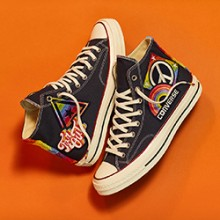 The Converse Chuck Taylor All Star Pride 2017 Collection is Packed with  Rainbow hues 11ded7dc5