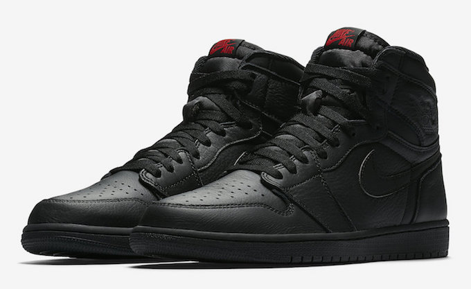 Blissfully Uncomplicated  The Nike Air Jordan 1 Retro High OG Black ... 6d2e02b7a