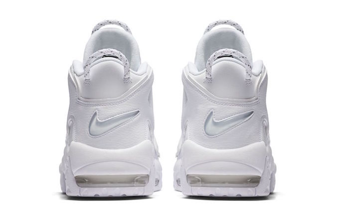 No Frills Nike Air More Uptempo Triple White The Drop Date