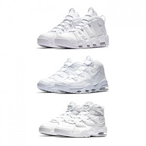 0b69959f7575 Nike Air More Uptempo Triple White Pack