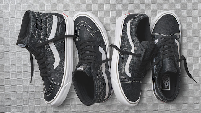 07e4116aa5 The VANS VAULT JUNGLE JACQUARD COLLECTION utilises intricate production  processes to create a premium spin on some of the brand s most loved  silhouettes.