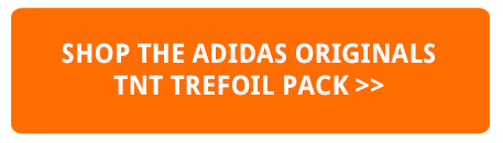 The ADIDAS ORIGINALS TNT TREFOIL PACK has logo tape for days