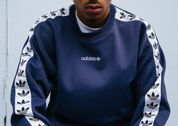 Logo love: take a closer look at the new ADIDAS ORIGINALS