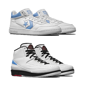 a37ddef35fecc0 Nike Air Jordan x Converse - The 2 That Started It All pack ...