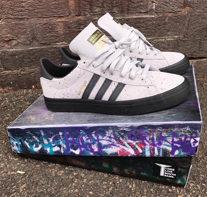 new style 42f71 0d161 The LLSB x adidas Skateboarding Campus Vulc II ADV Launches as part of the  Restoration Fundraiser