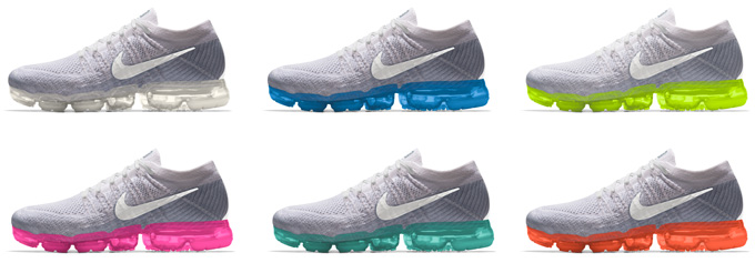 superior quality 798d5 47c20 Jump on It! The Nike Air VaporMax Flyknit Is Back at NikeiD ...