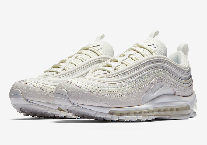 The Nike Air Max 97 Lands in White