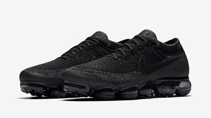Nike Air Vapormax Flyknit Black Anthracite & White