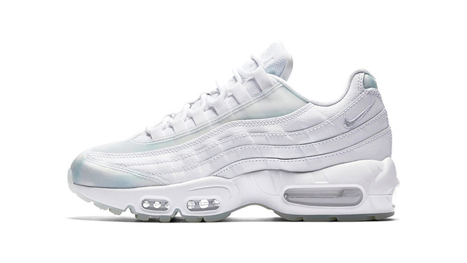 finest selection d9d7f c33e9 Cold As Ice: The Nike Air Max 95 White Ice - The Drop Date