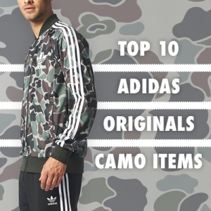THE TOP 10 ADIDAS ORIGINALS CAMO ITEMS AVAILABLE NOW