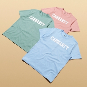 CARHARTT WIP T-SHIRTS PASTEL SIZE?