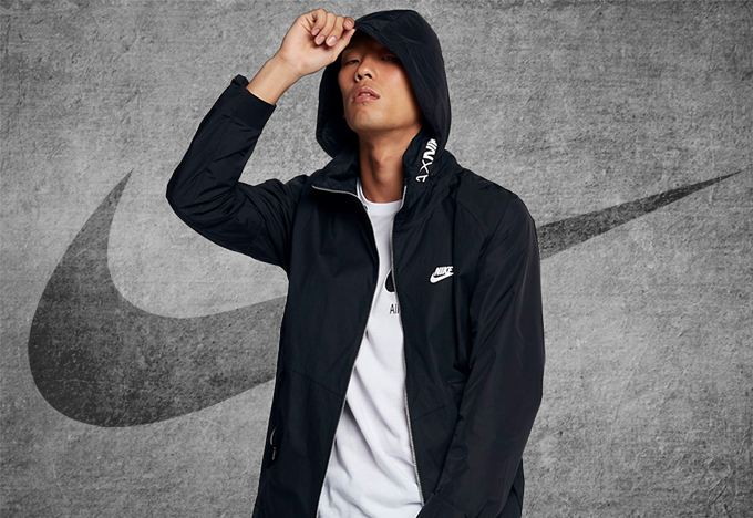 The new NIKE SPORTSWEAR AIR APPAREL takes monochrome to the