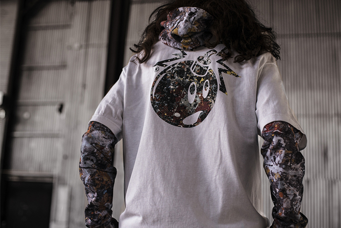 art meets streetwear for the hundreds x jackson pollock collection  available now