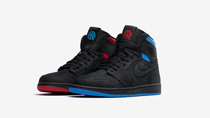 311c4745f646 The Nike Air Jordan 1 Retro High OG Q54 Makes Odd Shoes Acceptable ...