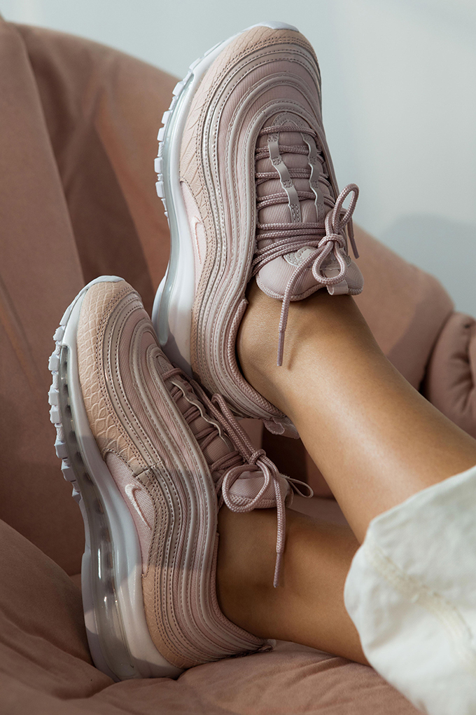 a9ba5be072e0d The NIKE AIR MAX 97 PREMIUM WOMEN'S pack is AVAILABLE NOW: shop the model  and other latest footwear and clothing products from NAKEDCPH by following  the ...