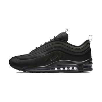 65e5f67185a78 Nike Air Max 97 Ultra - Triple Black - AVAILABLE NOW - The Drop Date