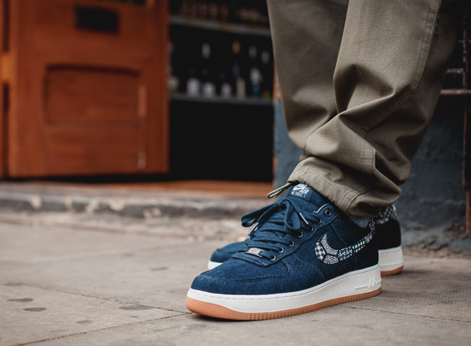 best sneakers 55bdd 13292 ... uk nikeid air force 1 low premium indigo collection b4870 ffe42