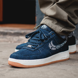 5731f10419c NikeiD Air Force 1 Low Premium Indigo Collection: On-Foot Shots ...